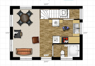 Simple And Then I Got Fiddling And Began Rearranging The Floor Plan In The  Same U Xu Space And Came Out With More With 15 X 20 Kitchen Design