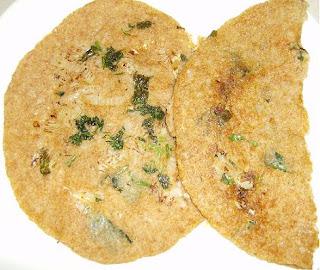wheat rava dosa/diabetic dosa
