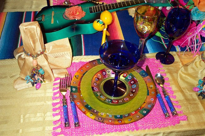: mexican table setting - pezcame.com