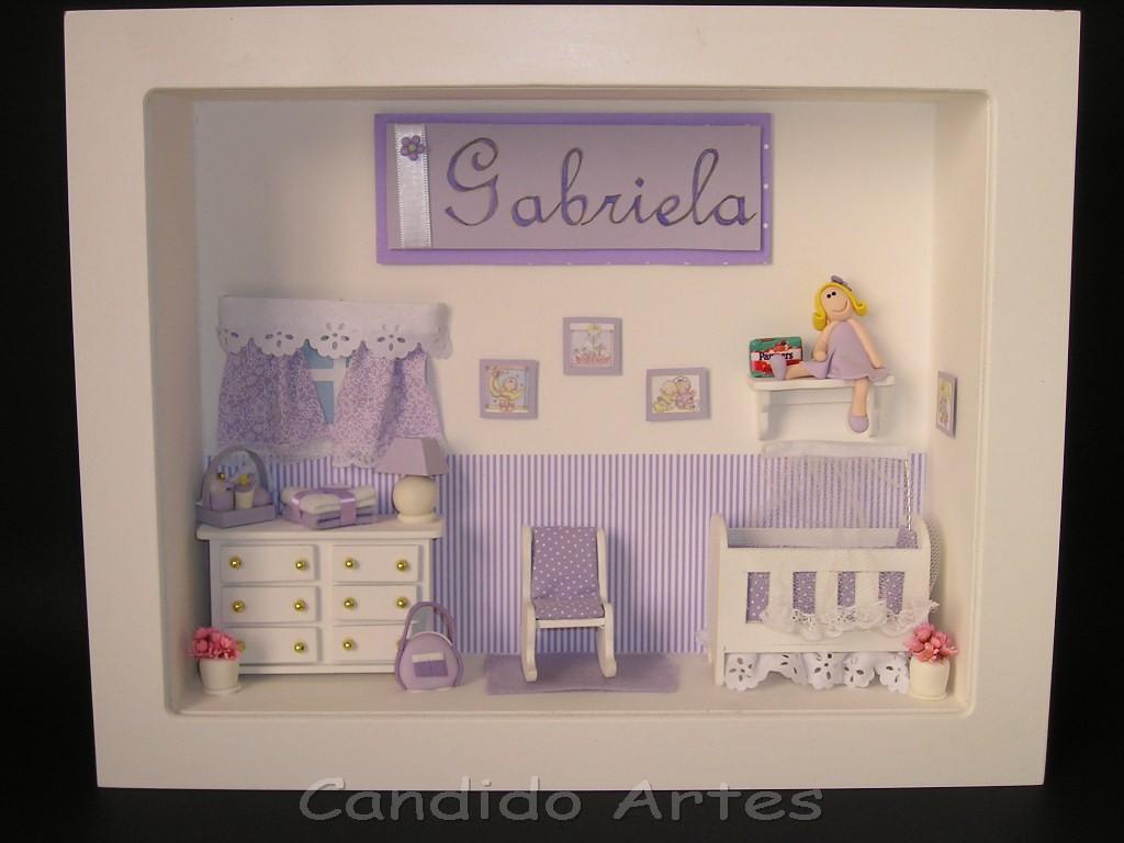 Enfeite De Quarto ~ Artesanato Candido Artes Enfeite para porta maternidade