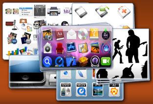 Imagen de varios iconos gratuitos para ser usados en tu escritorio o en tus páginas web
