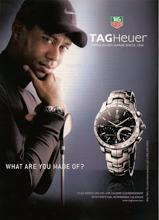 Tag Heuer - Tiger Woods - What are you made of?