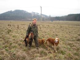 Beatrice met Ailigean en Yonick na de drift in Tsjechie