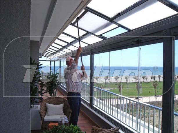 Techos moviles carpinteria lozano hierro y aluminio - Techos para exteriores ...