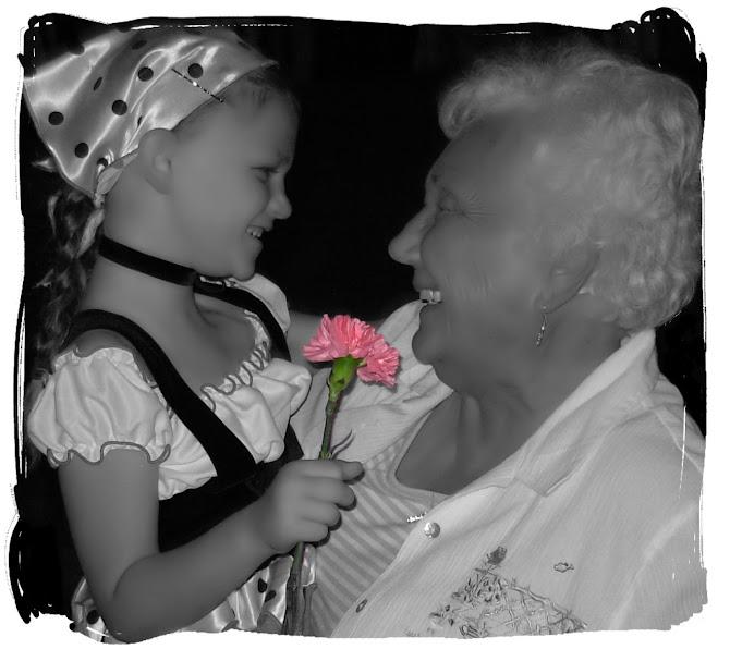 Grandma Katie and Hope