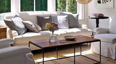 rustic natural coffee table