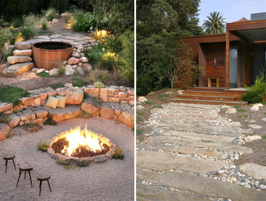 landscaping ideas on pinterest fire pits patio design