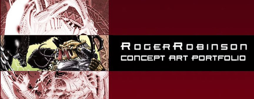 Roger Robinson Concept Art Portfolio