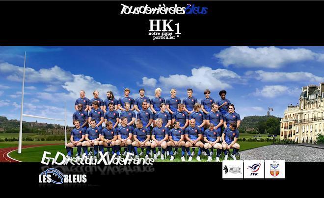 Les HK1 derrière les Bleus - en tous temps et en tous lieux