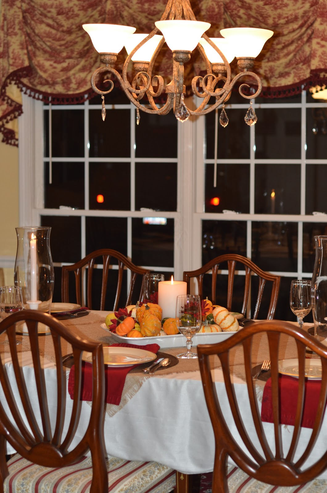 Southern Inspirations Thanksgiving Table & Dining Room Tour