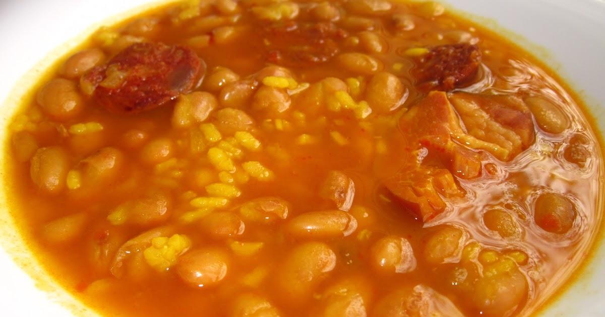 La cocina de ori jud as pintas con arroz - Judias pintas con arroz ...