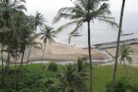 vagator beach- goa beach- travelling to india
