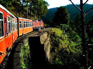 Shimla India-famous places in india- Shimla travel-Kalka shimla toy train