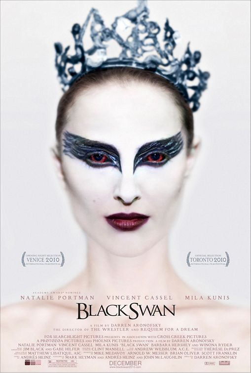 BLACK SWAN EYES - I killed Lily I can now be the black swan! Nina (Portman)