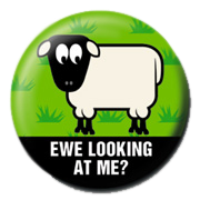 pin ewe looking at me?