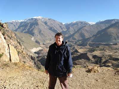 Jean at Colca Canyon