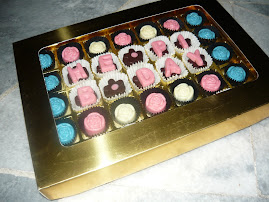 35 pcs chocolate