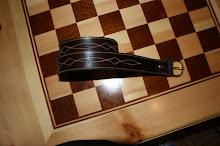 Cinturon labrado en cuero