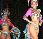 "SHOW CUBANO ""TROPICANA"" SE PRESENTA EN CALKIN, CAMPECHE; MXICO."