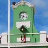 INfuncional Reloj Palacio Atenas del Camino Real, Klkiní. 18enero 2011.