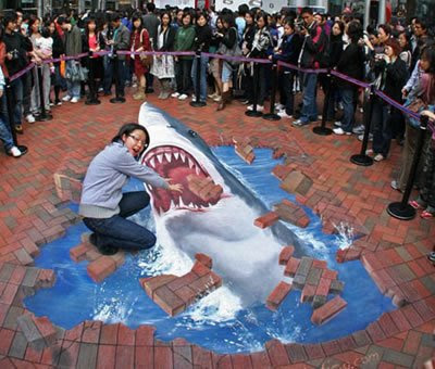 Amazing 3d Floor Chalk Drawings
