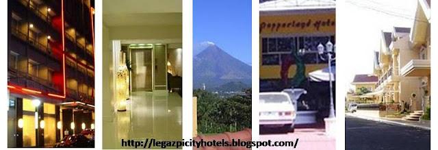 HOTELS IN LEGAZPI CITY