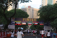 The Finish Line on Paseo De Roxas