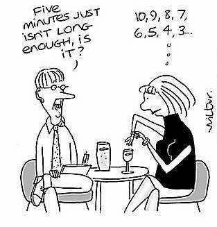 speed dating useless