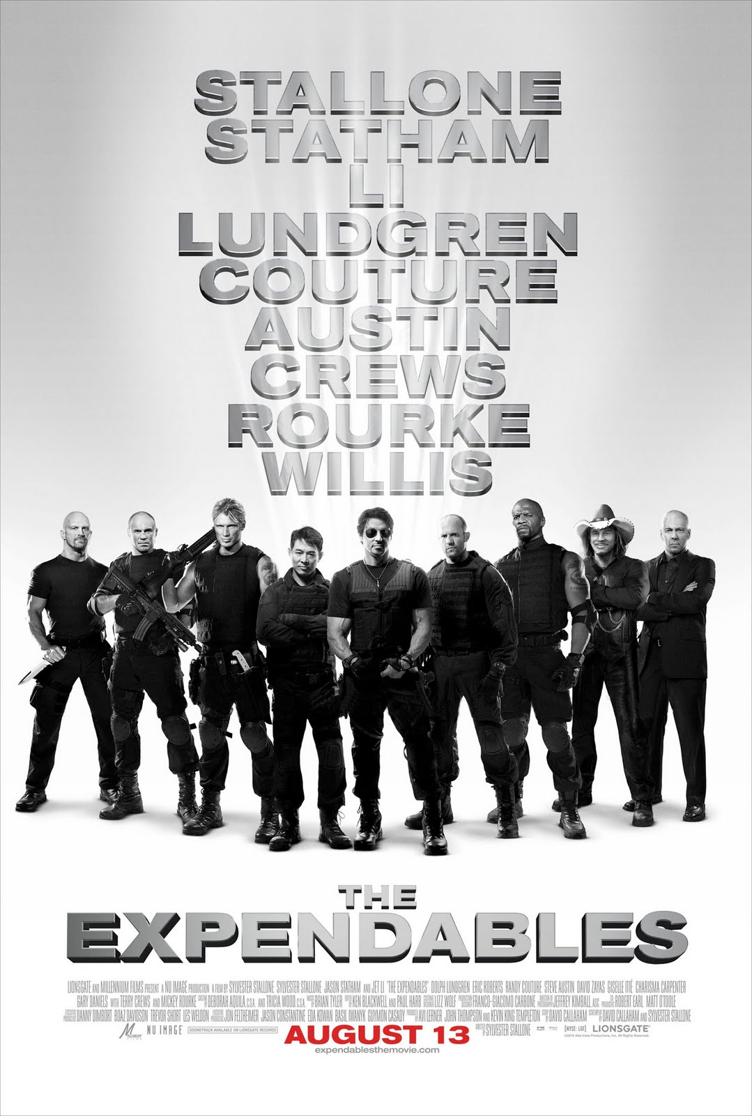 the expendables with stallone