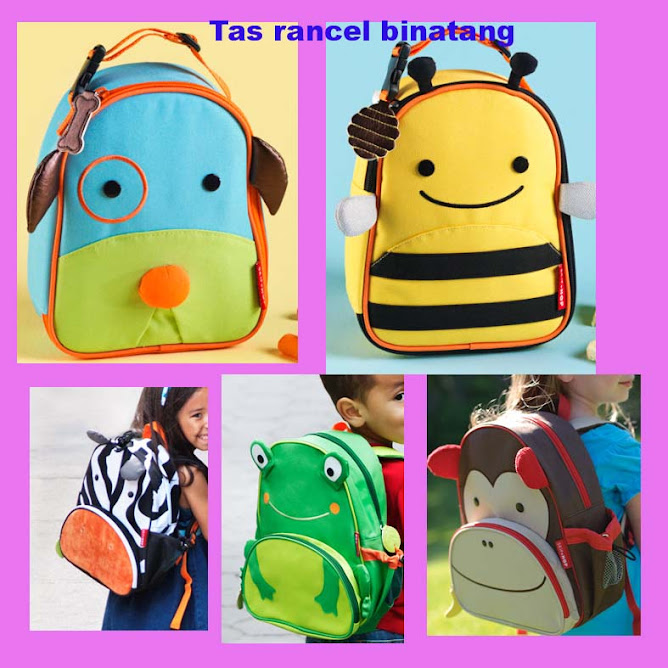 tas binatang rancel..new