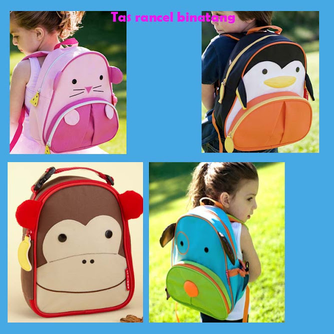tas binatang rancel  new