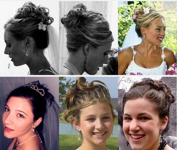 A Grecian up-do can be