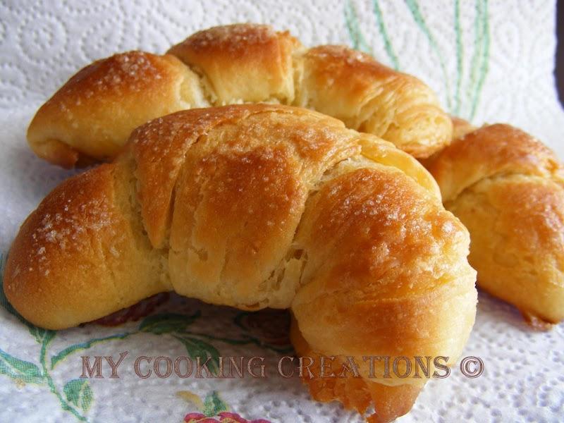 Buoni cornetti di Morena * Вкусните кроасани на Морена