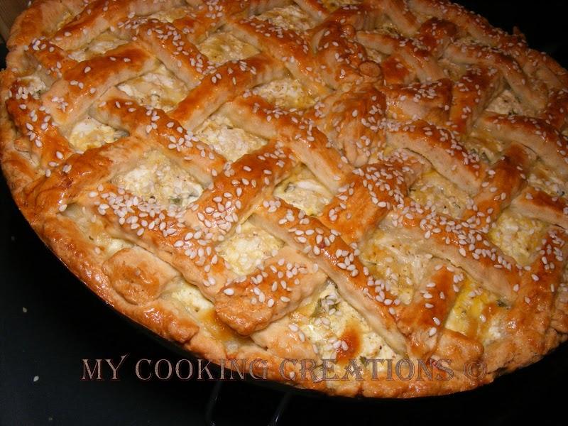 Crostata con formaggio * Тарта със сирене