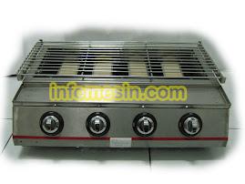Mesin Panggang BBQ Tanpa Asap
