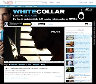 Google italy blog white collar da oggi in anteprima su for Youtube oggi