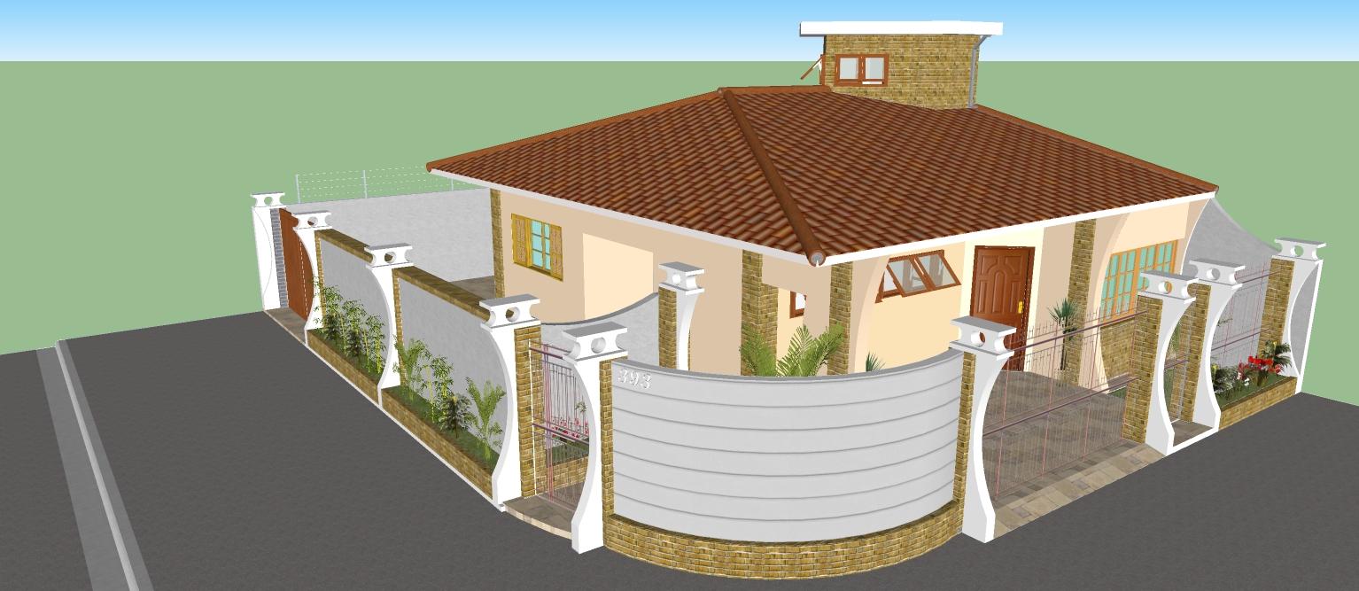 Casa projeton casa pequena grandes possibilidades for Piscina 4 esquinas