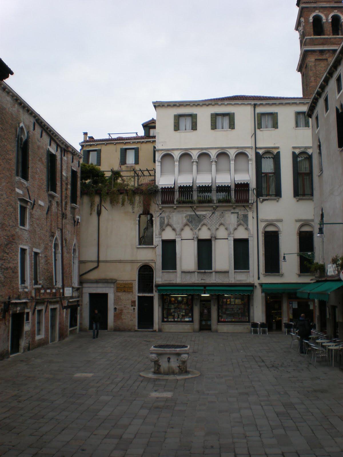 Venezia campo santa maria mater domini for Piani di palazzo con piscina coperta