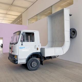 Truck sculpture