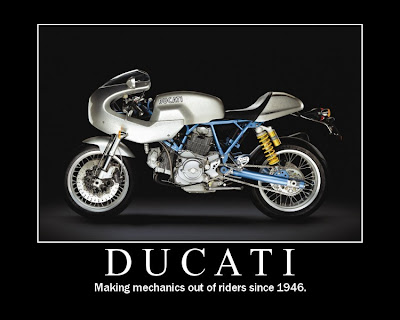 ducati motivational poster