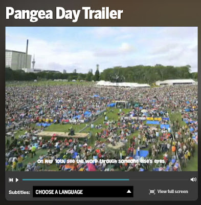 pangea day trailer - auckland domain