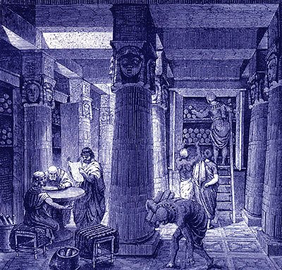 Library at Alexandria - Ptolemy