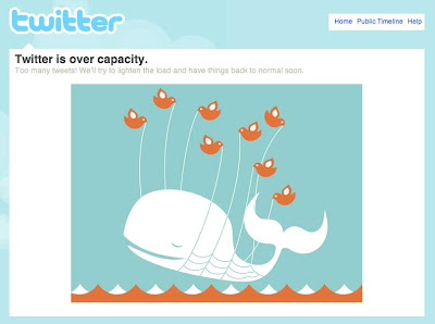 twitter whale down