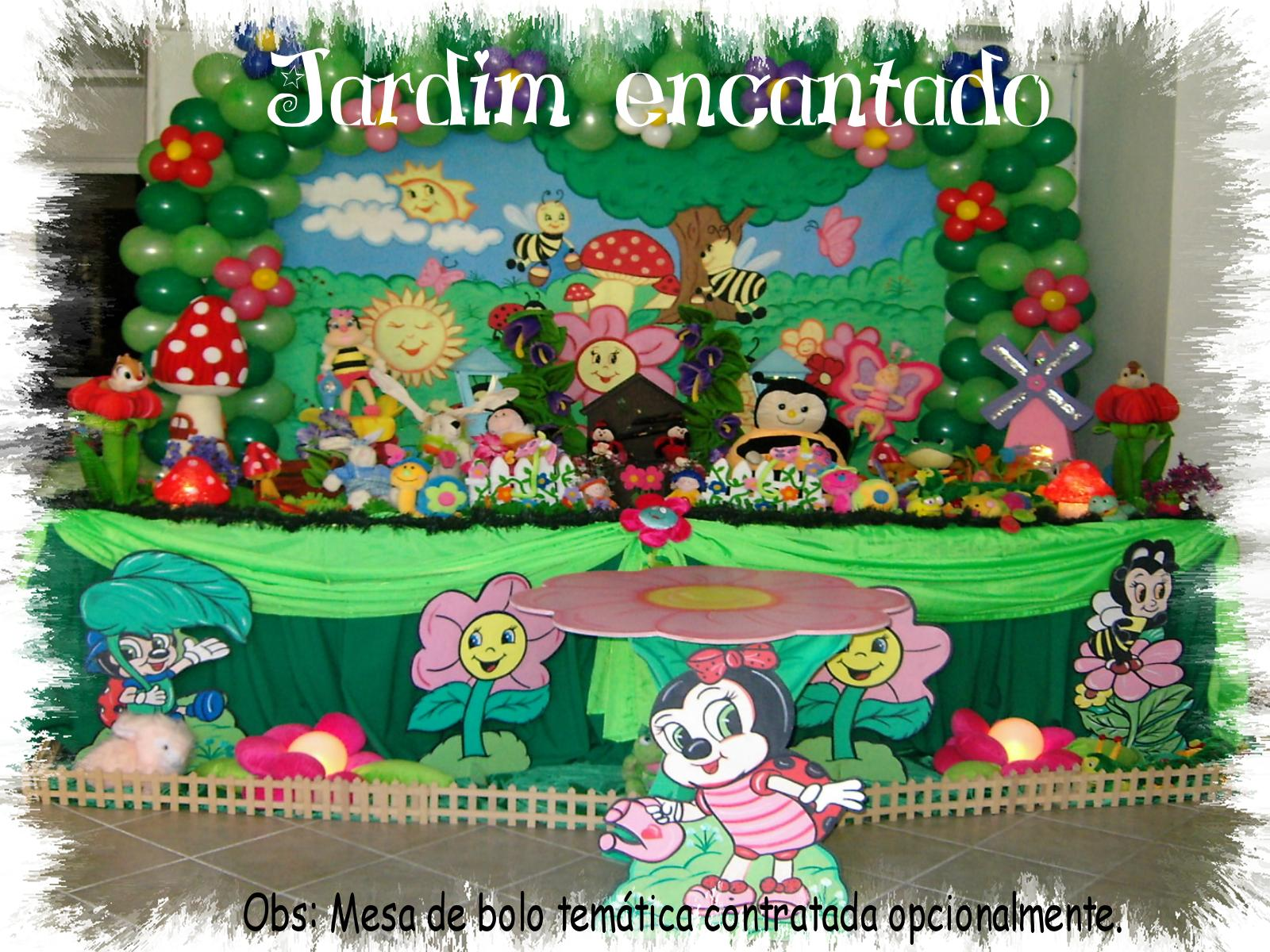 decoracao infantil tema jardim encantado:Atelier Doces Sonhos Festas: Decoração Tema Jardim Encantado