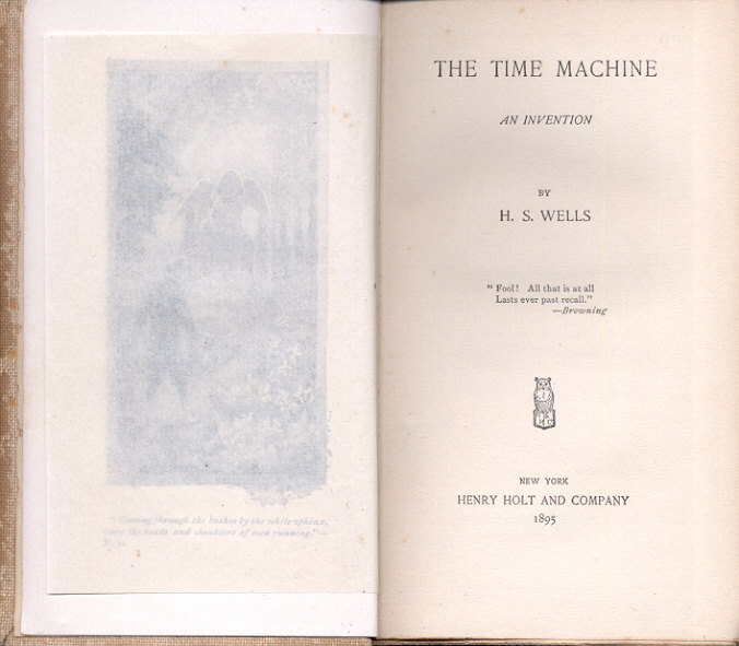 the time machine pages