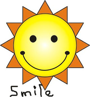 cartoon smiley sun
