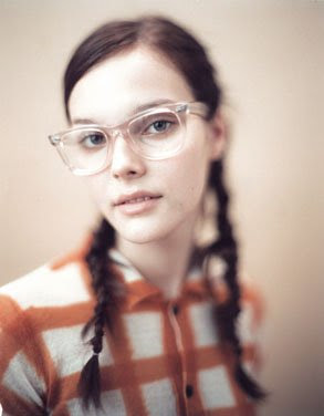 UK Vogue Feb, 2006 Class of 2006 Braids and Bows