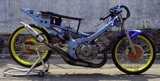 walpaper drag modification satria fu 150