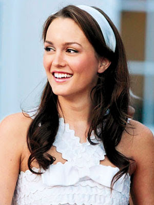 Leighton Meester as bitchy Blair Waldorf: Big, Beautiful Curls