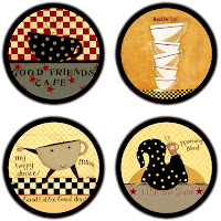 Cafe coasters